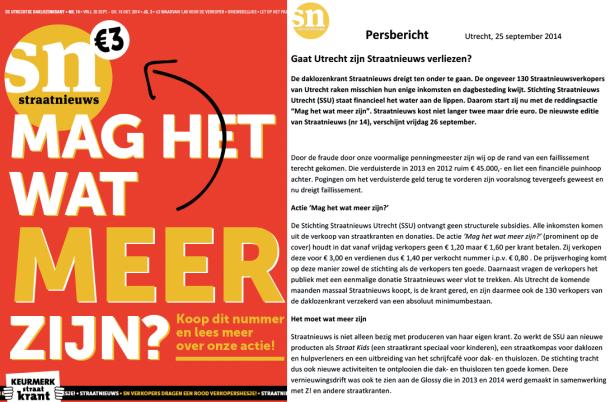 SN 14 14 cover & persbericht